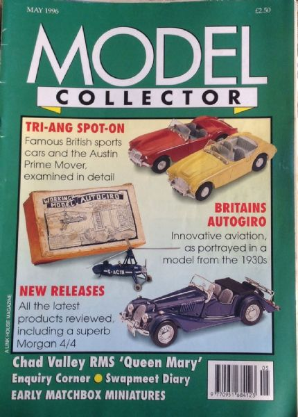 ORIGINAL MODEL COLLECTOR MAGAZINE May 1996